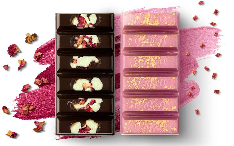 Компания Nestlé предлагает уникальные батончики KitKat