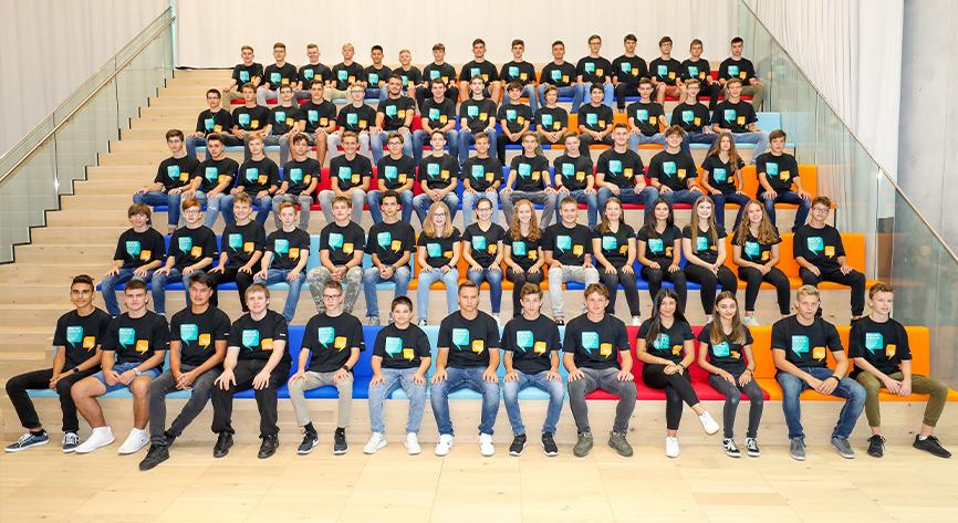 70 swiss apprentices