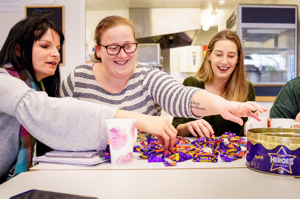 Mondelez donates thousands of products to those in need
