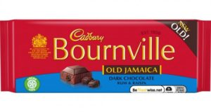 Cadbury has launched old favourite Bournville Old Jamaica