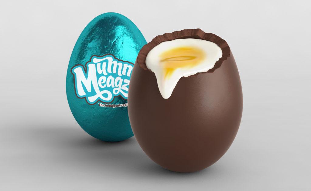 Mummy Meagz launches vegan créme egg