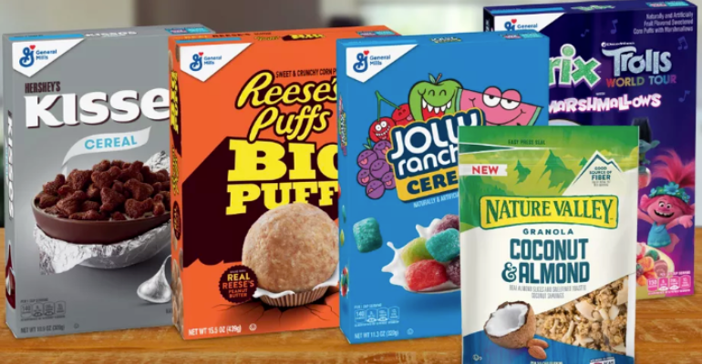 Hershey's team up with General Mills