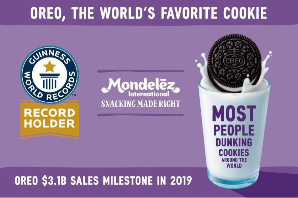 Mondelēz International wins Guinness World Record