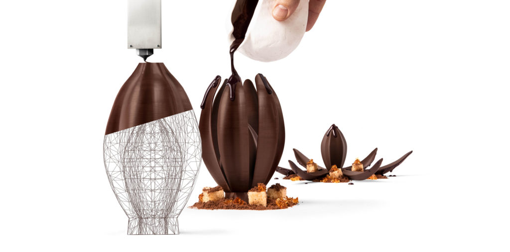 Barry Callebaut launches world's first 3D printing chocolate studio