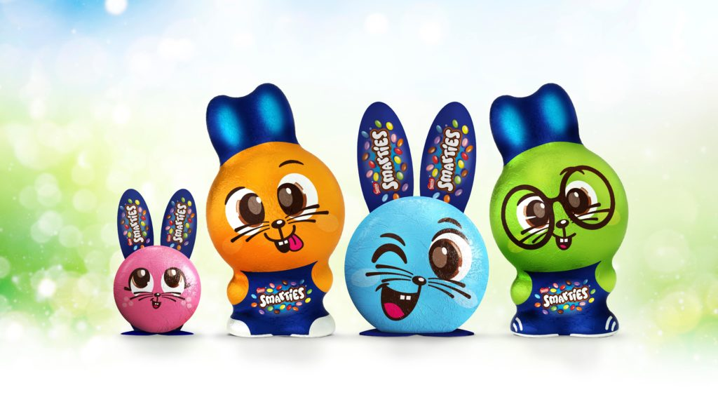 Smarties launch new seasonal chocolate for Easter