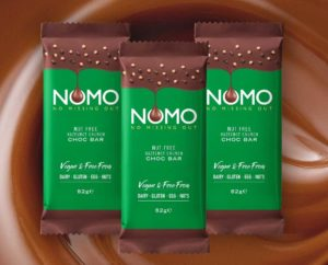 Anyone with a nut allergy or intolerance no longer needs to miss out on delicious chocolate as NOMO has launched the first ever Nut Free Hazelnot Crunch Choc Bar