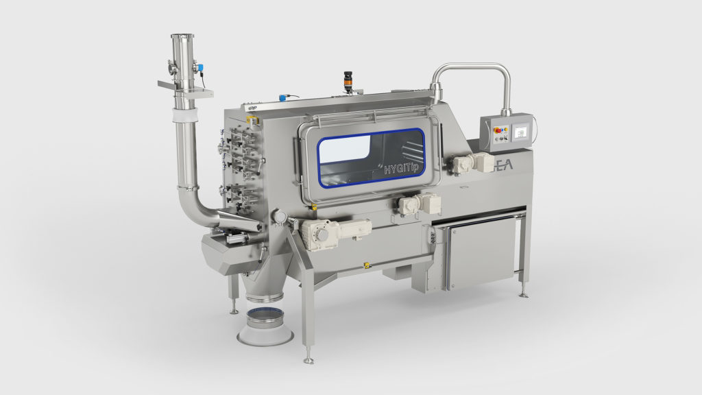 GEA HYGiTiP automatic bag emptying system
