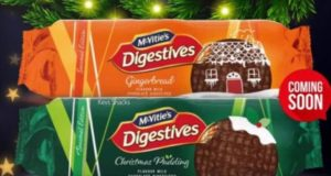 McVitie's new Christmas flavours