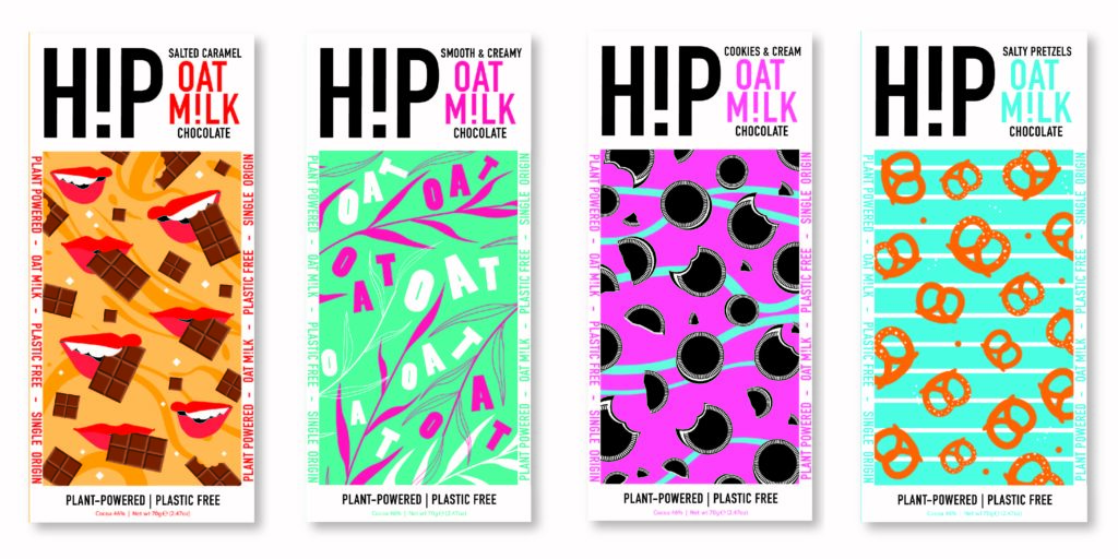 HiP launch oat milk chocolate range
