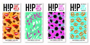 HiP launch oat milk chocolate range