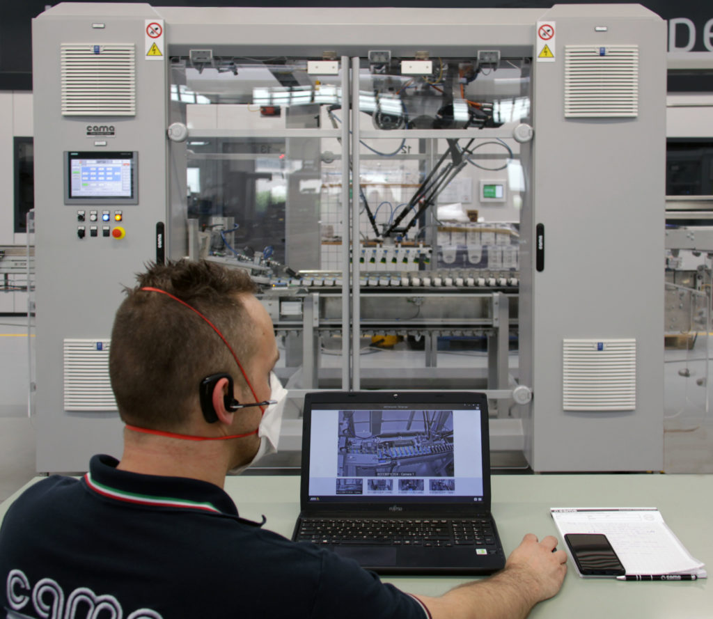 Cama Group addresses pandemic concerns and helps maintain business continuity, by bolstering digital manufacturing services with new Live FAT (Factory Acceptance Testing) programme.