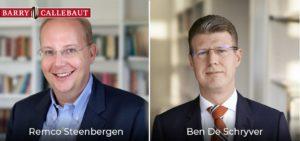 Ben De Schryver appointed as CFO of Barry Callebaut