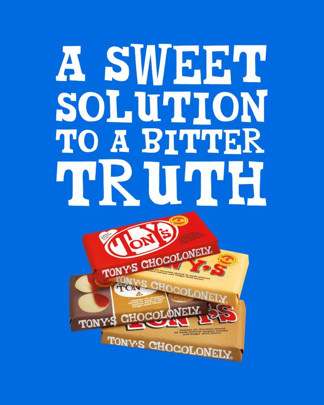 Tony's Chocolonely release 'Sweet Solution' limited edition bars