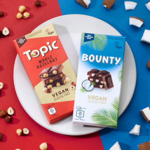 Mars expands vegan range with two new chocolate bars