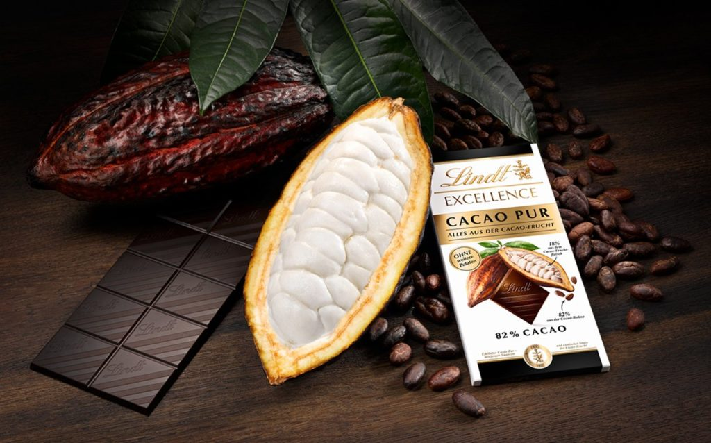 Lindt & Sprüngli unveils chocolate bar made with entire cocoa pod