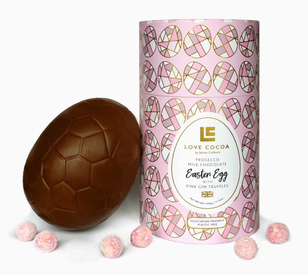 Love Cocoa extends Easter range with giant eco-friendly eggs