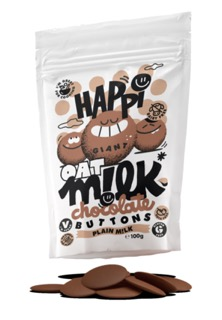 Happi launches first-to-market dedicated oat milk chocolate brand