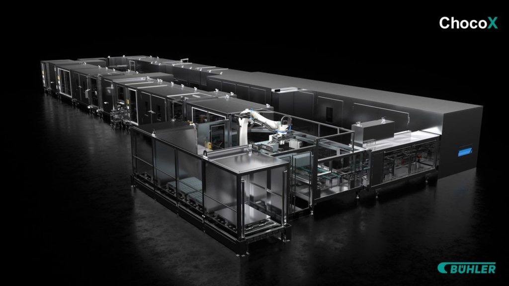 Bühler's moulding solution ChocoX is ready for customers
