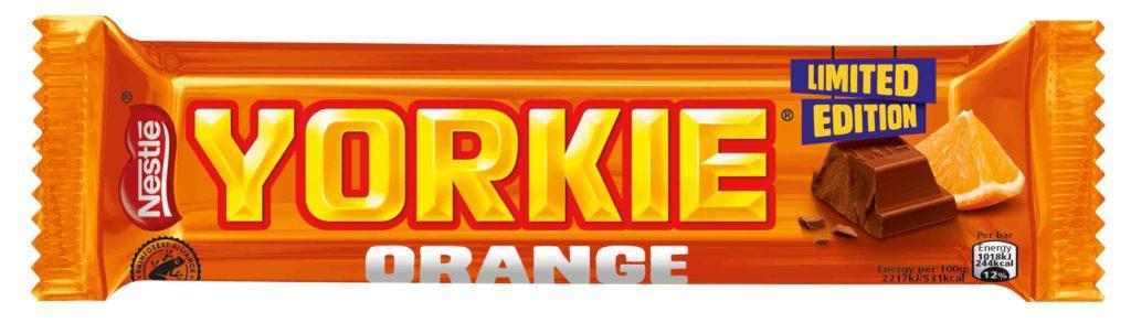 Nestlé set to launch Yorkie Orange