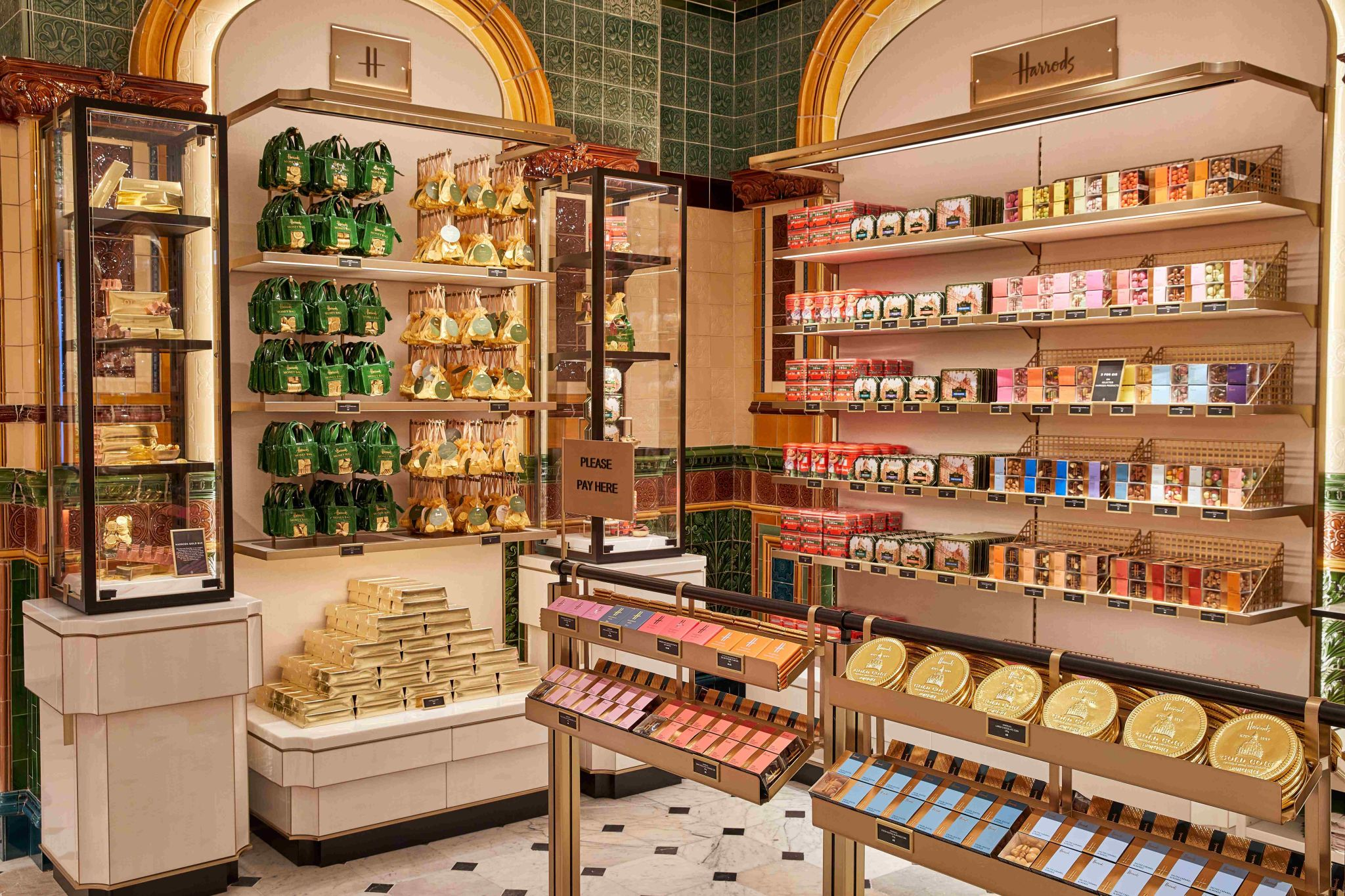 Harrods reveals its Chocolate Hall, the final transformation of the Food Hall