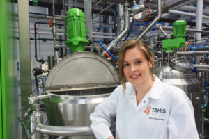 Manon Kerremans, Manager of the Tanis Confectionery Innovation Centre, and gives us insight into working with customers through trials and demonstrations.