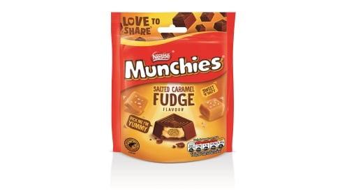 Nestlé launches munchies Salted Caramel Fudge