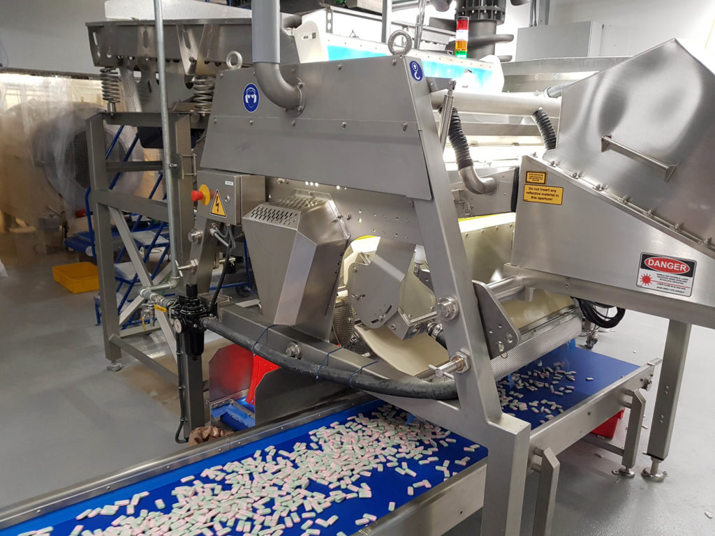 Advanced technology for sweet sorting from TOMRA