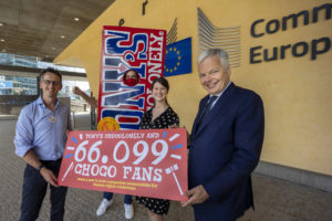 Tony's Chocolonely delivers 66,099 signatories for human rights law