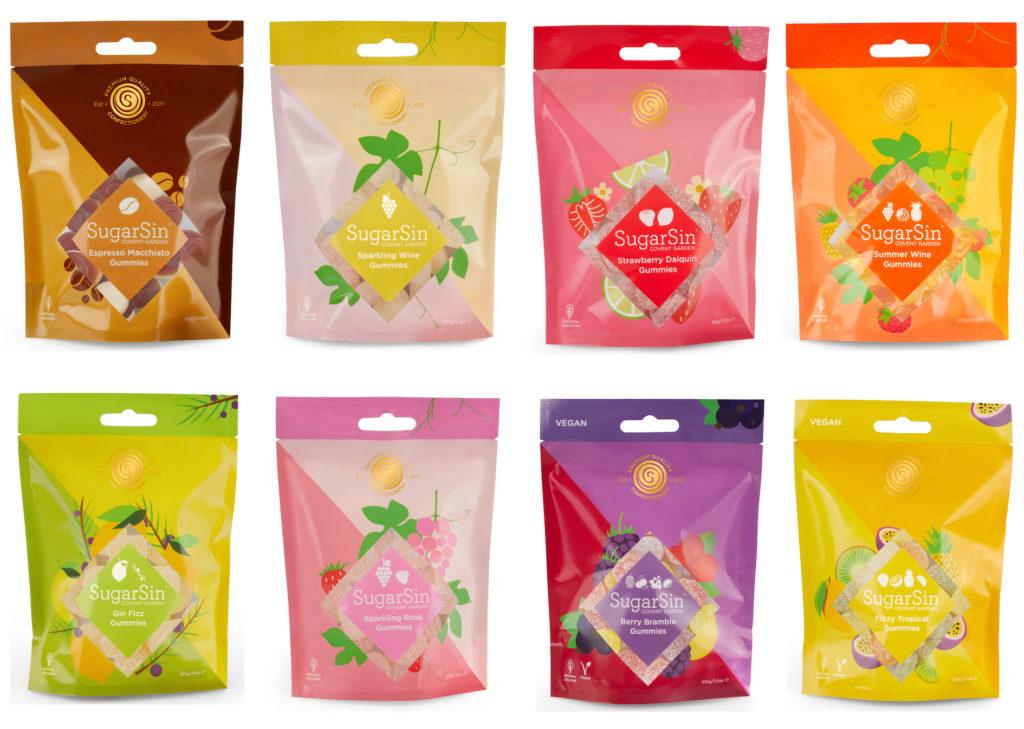 SugarSin launches new gourmet range of gummies