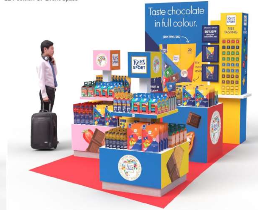 Ritter Sport introduces new packaging design concept